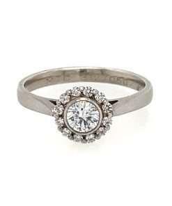 rub over diamond halo