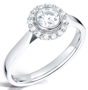 halo engagment ring