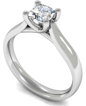 diamond silitatire engagement ring
