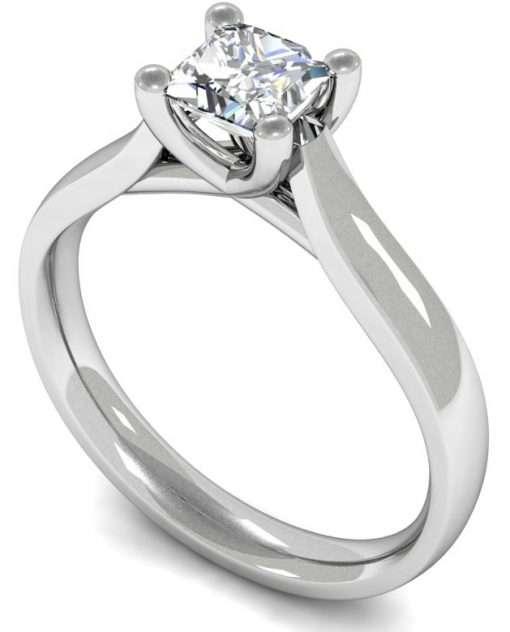 diamond silitatire engagement ring