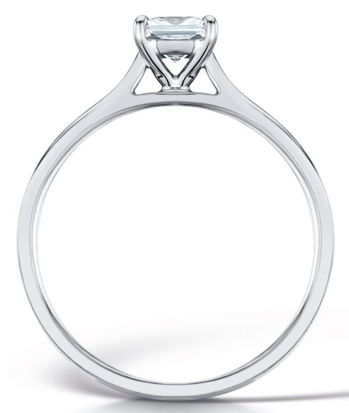 Beautiful Solitaire Engagement Ring - Side Shot