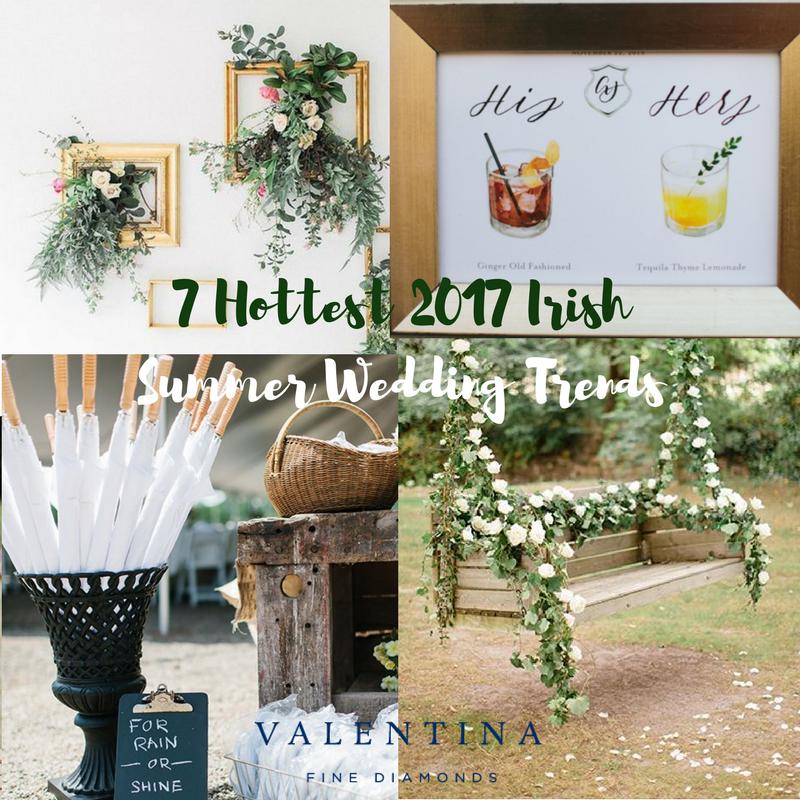 Blog Post: 7 Hottest 2017 Irish Summer Wedding Trends