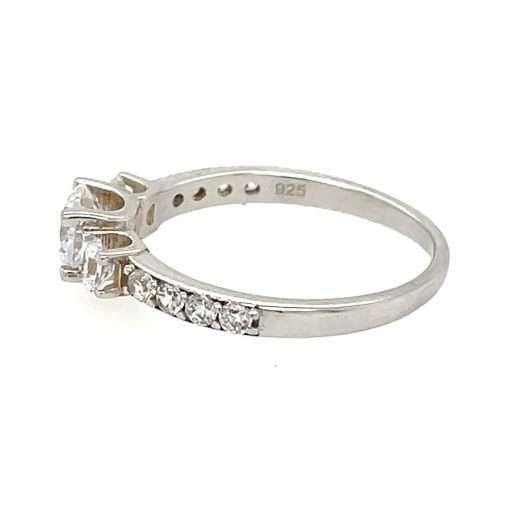 Three-Stone Engagement Ring