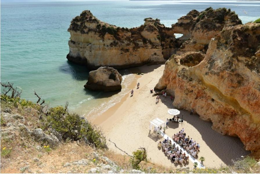 Beach Wedding in the Algarve, Portugal