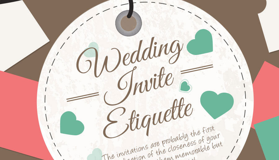 Make sure you manage the invites to your wedding correctly.