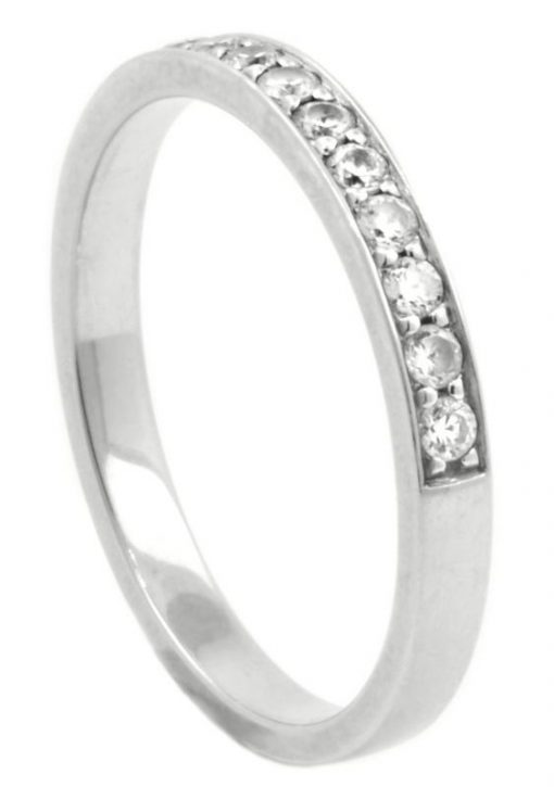Classic Diamond Half Eternity Ring