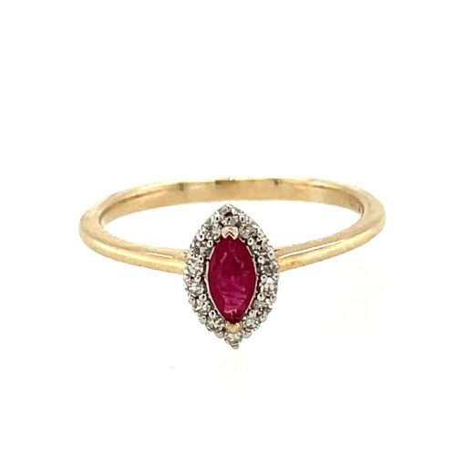ruby marquise