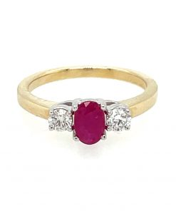 oval ruby