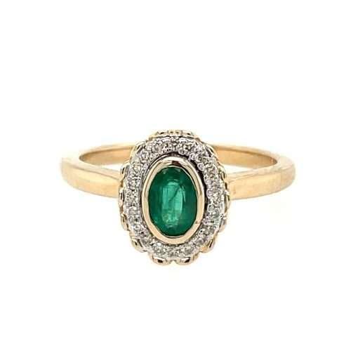 emerald halo