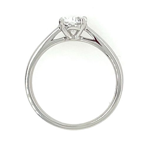 1ct oval solitaire