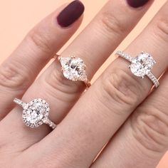 Oval Engagement Ring Styles
