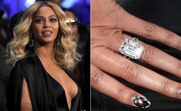 Beyonces huge engagement ring worth $5 million